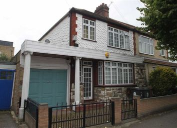 Thumbnail 3 bed end terrace house for sale in Rushcroft Road, London