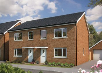 "Thumbnail 3 bedroom property for sale in ""The Hazel"" at Amesbury Road, Longhedge, Salisbury"