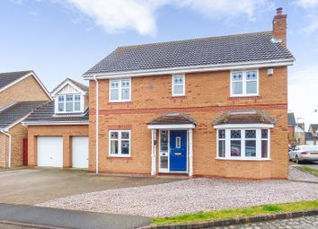 Thumbnail 5 bed detached house for sale in Stephenson Close, Yaxley, Peterborough