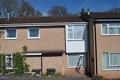 3 bed terraced house to rent in Woodfield Close, Exmouth EX8