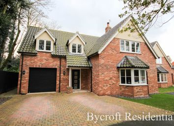 Thumbnail 4 bed detached house for sale in Thrigby Road, Filby, Great Yarmouth