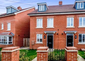 Thumbnail 4 bed semi-detached house for sale in Gold Furlong, Marston Moretaine, Bedford, Bedfordshire
