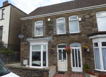 Thumbnail 4 bedroom terraced house for sale in Crown Street, Morriston, Swansea