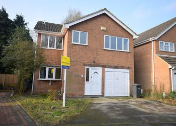 Thumbnail 4 bed detached house to rent in Whitaker Gardens, Burton Road, New Normanton, Derby