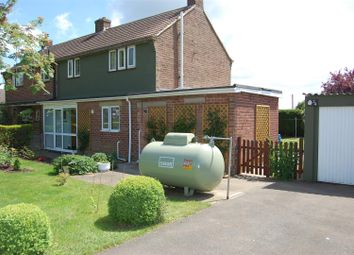 Thumbnail 3 bed semi-detached house to rent in School Lane, Old Somerby, Grantham