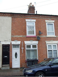 Thumbnail 2 bed terraced house for sale in Myrtle Road, Leicester