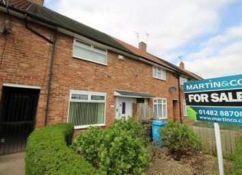 Thumbnail 2 bed terraced house for sale in Shannon Road, Hull, East Yorkshire