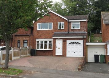 Thumbnail 3 bed detached house for sale in Rangeways Road, Kingswinford