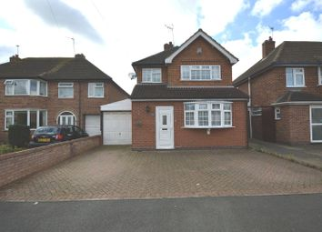 Thumbnail 3 bedroom detached house for sale in Ruskington Drive, Wigston, Leicester