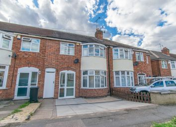 Thumbnail 3 bed terraced house for sale in Lymington Road, Leicester