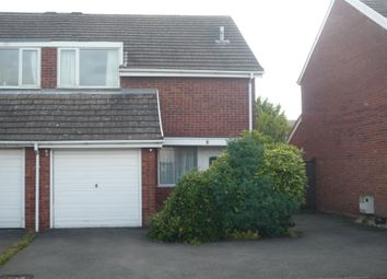 Thumbnail 3 bed semi-detached house to rent in Templars Way, Penkridge