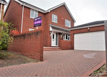 Thumbnail 4 bed detached house for sale in Atbara Close, Swindon