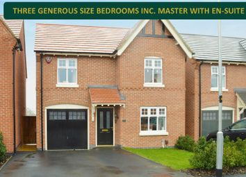 Thumbnail 3 bed detached house for sale in Green Hedge Lane, Queniborough, Leicester
