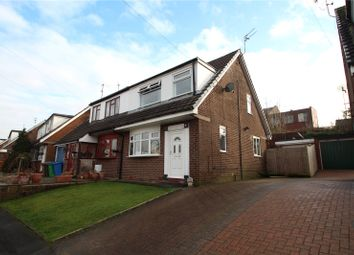 Thumbnail 3 bedroom semi-detached house for sale in Fairfax Drive, Smithybridge, Rochdale, Greater Manchester