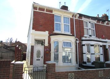 Thumbnail 3 bedroom end terrace house for sale in Wykeham Road, North End, Portsmouth