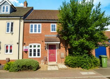 Thumbnail 3 bedroom end terrace house for sale in Washington Drive, Watton, Thetford