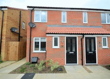 Thumbnail 2 bed end terrace house for sale in 52 Snow Close, Holdingham, Sleaford