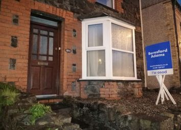Thumbnail 2 bedroom terraced house to rent in Caernarfon Road, Bangor