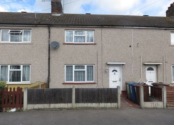 Thumbnail 3 bed terraced house to rent in Dickens Avenue, Tilbury