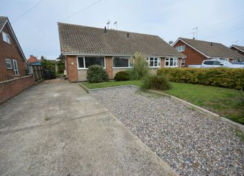 Thumbnail 3 bedroom semi-detached bungalow to rent in Francis Road, Kessingland, Suffolk