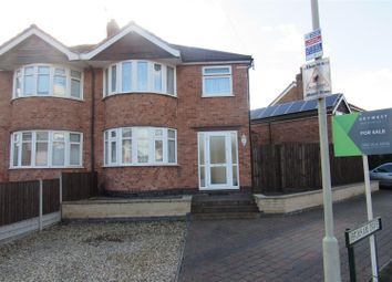Thumbnail 3 bed semi-detached house for sale in Brixham Drive, Wigston