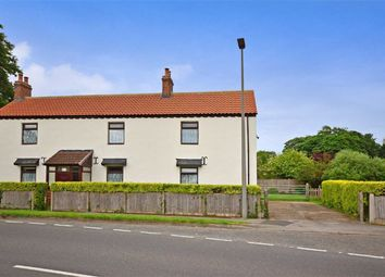Thumbnail 4 bed detached house for sale in Selby Road, Camblesforth, Selby