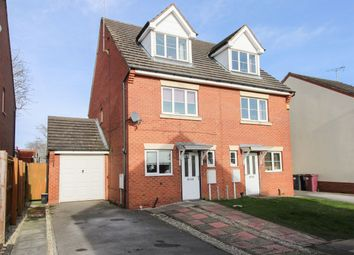 Thumbnail 3 bed semi-detached house for sale in Nethercroft Lane, Danesmoor, Chesterfield