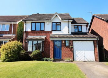 Thumbnail 4 bed detached house for sale in Redbridge Drive, Nuthall, Nottingham