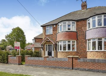 Thumbnail 3 bedroom semi-detached house for sale in Thornwick Avenue, Willerby, Hull