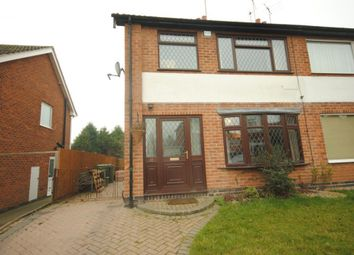 Thumbnail 3 bedroom semi-detached house to rent in Hillberry Close, Narborough, Leicester