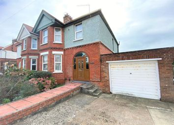 Thumbnail 4 bed semi-detached house for sale in Hasborough Road, Folkestone