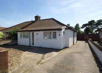 Thumbnail 2 bed bungalow for sale in Woodland Road, Hellesdon, Norwich