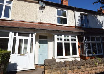 Thumbnail 2 bed terraced house to rent in Manvers Road, West Bridgford, Nottingham