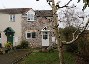 Thumbnail 2 bed end terrace house for sale in 22, Old Station Close, Cheddar, Somerset