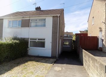 Thumbnail 2 bed semi-detached house for sale in 37 Shakespeare Avenue, Cefn Glas, Bridgend.