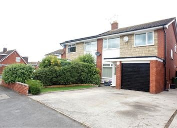 Thumbnail 3 bed semi-detached house for sale in Clos Morfudd, Rhyl