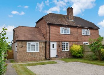 Thumbnail 3 bed semi-detached house for sale in Appledore Road, Kenardington, Ashford