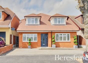 Thumbnail 4 bed detached house for sale in Greenway, Harold Park, Romford, Essex