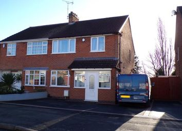 Thumbnail 3 bed semi-detached house for sale in Wardens Walk, Leicester Forest East, Leicester, Leicestershire