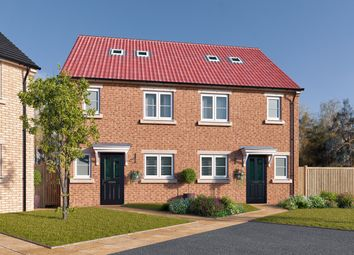 "Thumbnail 3 bed semi-detached house for sale in ""The Newstead"" at St. Thomas's Way, Green Hammerton, York"