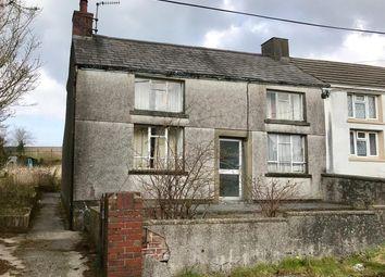 Thumbnail 2 bed semi-detached house for sale in Heol Yr Ysgol, Cefneithin, Llanelli