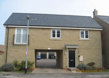 Thumbnail 2 bedroom flat to rent in Lannesbury Crescent, St. Neots