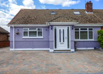 Thumbnail 3 bed semi-detached bungalow for sale in Pickwick Gardens, Northfleet, Gravesend