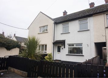 Thumbnail 2 bed terraced house for sale in Glenfield Close, Crumlin