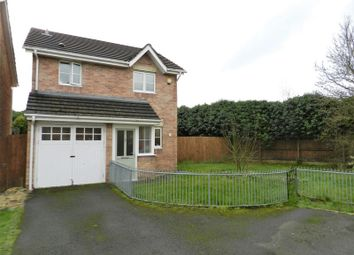 Thumbnail 3 bedroom detached house for sale in Llys Eglwys, Bridgend