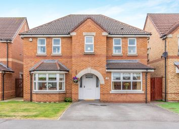 Thumbnail 4 bed detached house for sale in Fothergill Drive, Edenthorpe, Doncaster