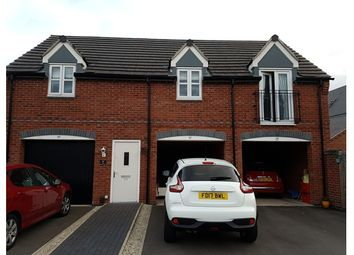 Thumbnail 2 bed property for sale in 24 Hoyte Drive, Kegworth, Derby, Derbyshire