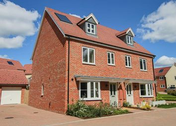 Thumbnail 4 bed semi-detached house for sale in Strachey Close, Saffron Walden