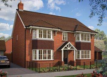 "Thumbnail 5 bed detached house for sale in ""The Ascot"" at Southam Road, Radford Semele, Leamington Spa"