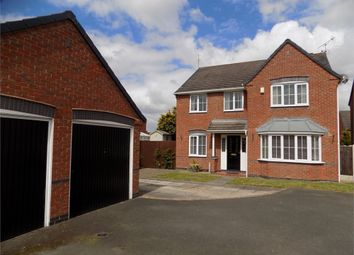 Thumbnail 4 bed detached house for sale in Alpine Court, Worksop, Nottinghamshire